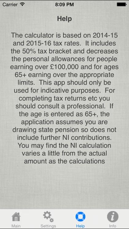 UK Salary Calculator 2019-20 screenshot-3