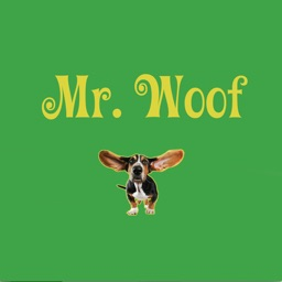 Mr. Woof - funny dog stickers