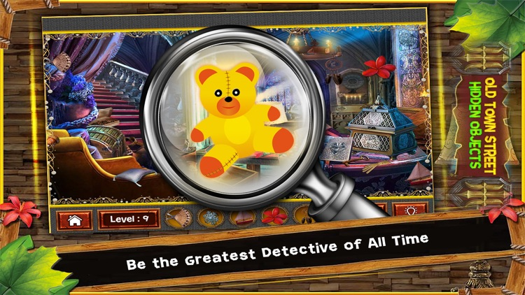 Old Town Street Hidden Objects Game: 150 Levels
