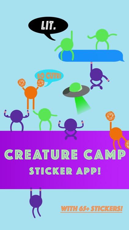 Creature Camp Stickers