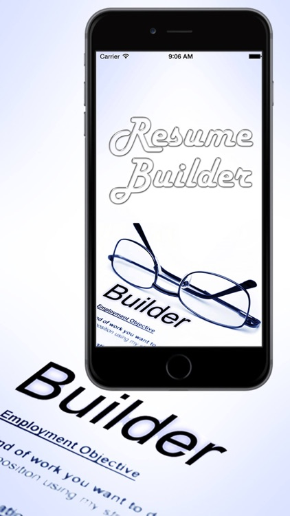 Smart Resume Builder -  Professional CV