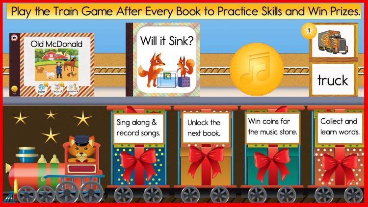 Reading Train - My First Books
