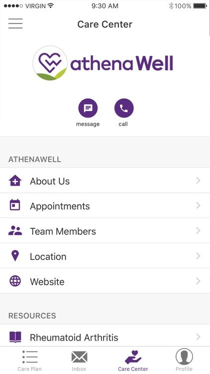 athenaWell Care Management screenshot-3