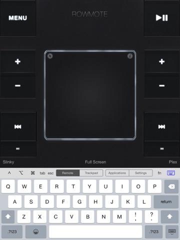 Screenshot #4 pour Rowmote Pro: Remote Control for Mac