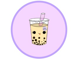A sweet and wonderful collection of Boba drink stickers