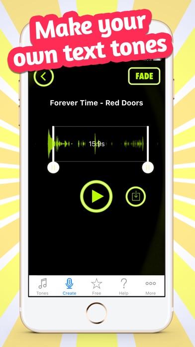 Screenshot for Custom Alert Tones & Sounds in South Africa App Store