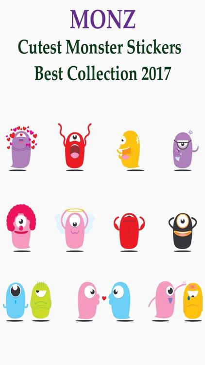 MonZter - Cutest Monster Stickers 2017