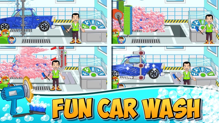 My Town : Car (wash, fix & drive cars) screenshot-4