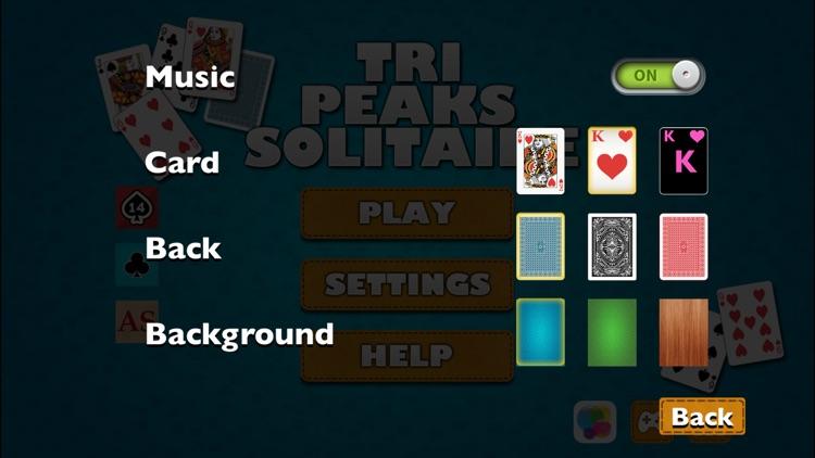 Tri-Peaks Solitaire screenshot-3
