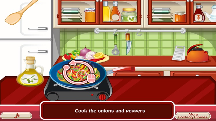 Cooking the First Chicken - girl games for kids screenshot-3