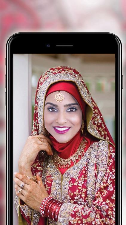Wedding Hijab Photo Montage - Free Face Decorator screenshot-3