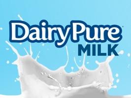 DairyPure Brand Milk Stickers