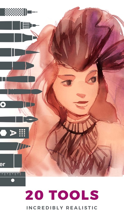Tayasui Sketches Pro screenshot-0