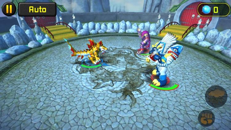 Invizimals: Battle of the Hunters screenshot-3