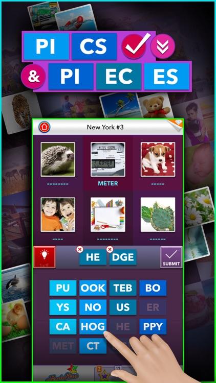 Pics & Pieces - Addicting Puzzle Game