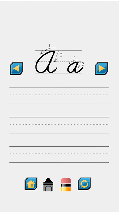 A to Z Cursive Writing Worksheets screenshot two