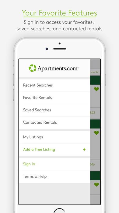 Apartments.com Rentals Screenshot
