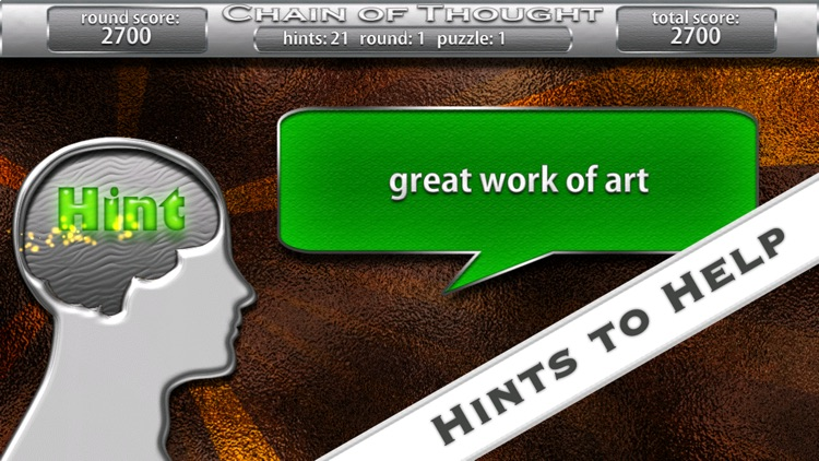 Chain Of Thought - the Word Association Game screenshot-3