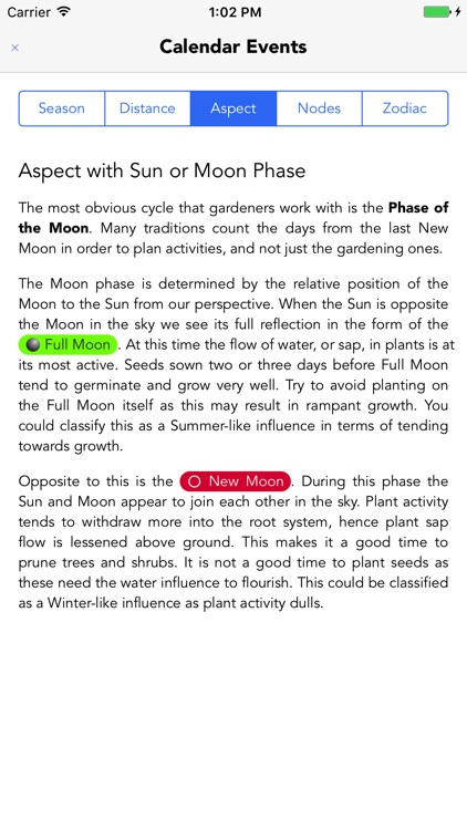 Lunar Gardener - Moon Planting screenshot-3