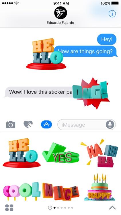Wow Sticker screenshot-3