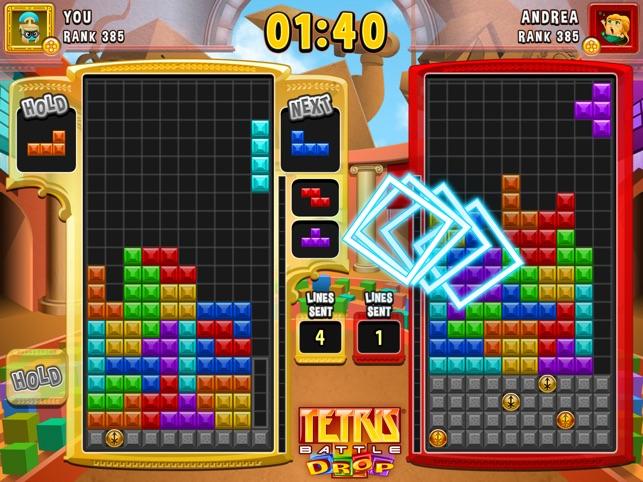 ranks in tetris battle
