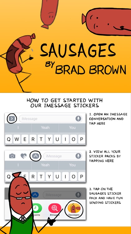Sausages by Brad Brown