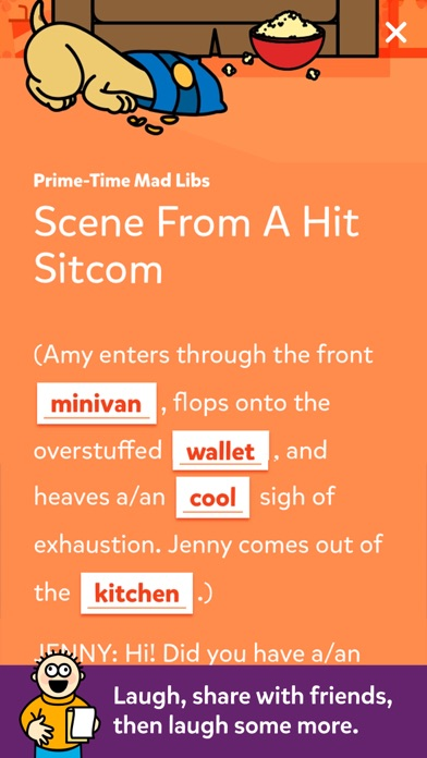 Mad Libs review screenshots