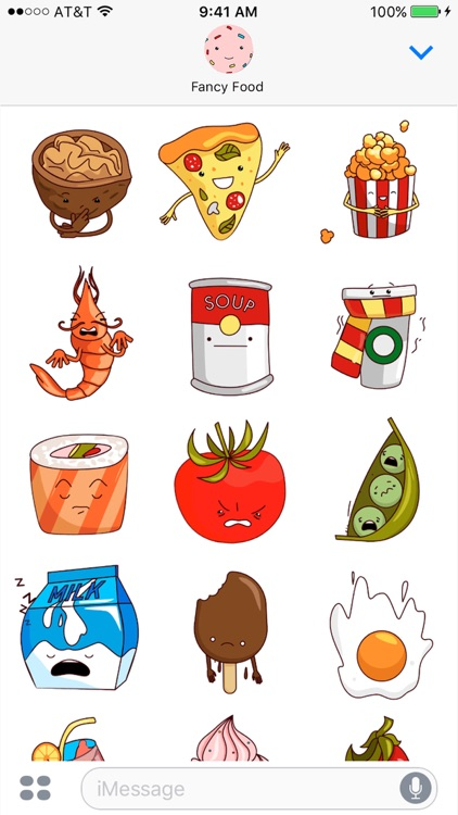 Fancy Food - Animated Stickers Fruits & Vegetables screenshot-3