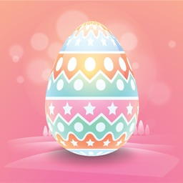 100 Easter Eggs Stickers