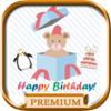 Tarjetas de cumpleaños con stickers Editor PRO