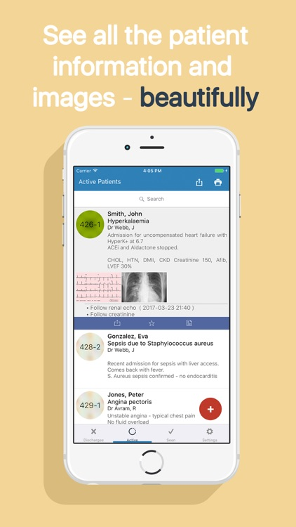 Roundr Lite : Patient lists