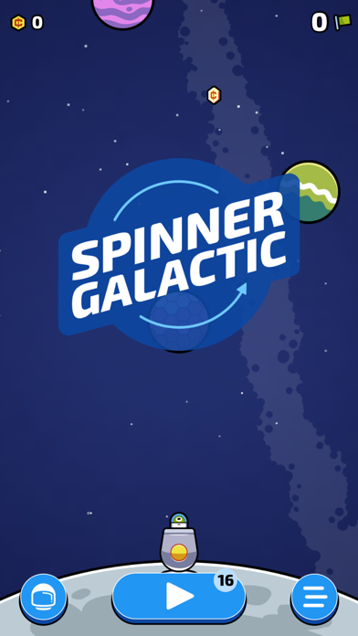 Spinner Galactic screenshot 1