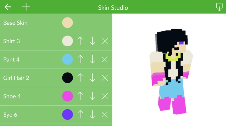 Skin Maker for Minecraft Pocket Edition