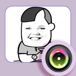 Funny expression sticker set factory HD