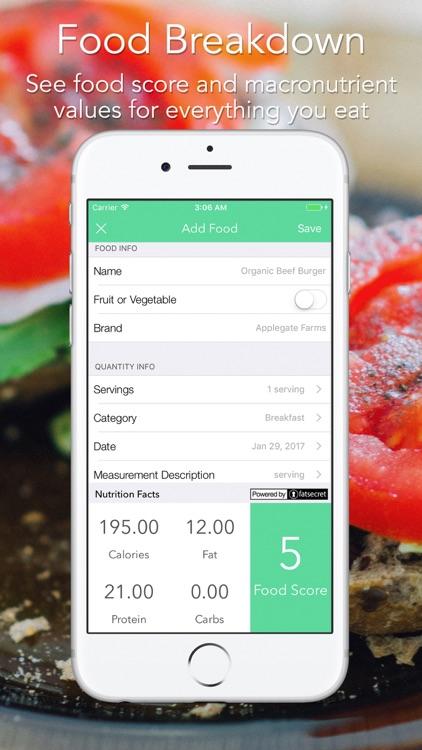 iMacro - Diet, Weight and Food Score Tracker screenshot-3