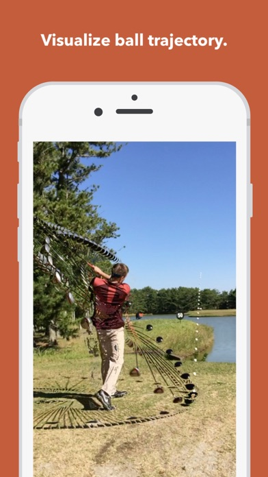 Screenshot for Clipstro Golf - Swing trajectory visualization in United Arab Emirates App Store
