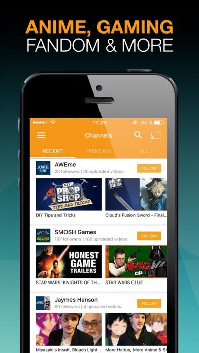 Viewster Screenshots