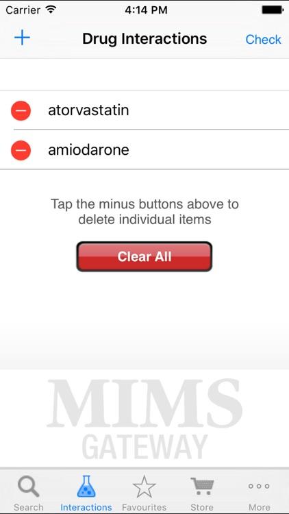 MIMS Gateway Mobile screenshot-3