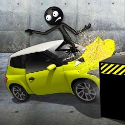 Stickman Crash Test VR Sim