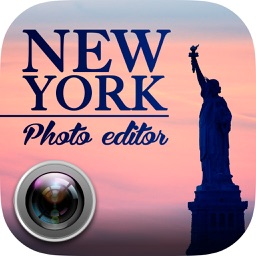 New York photo editor – NYC stickers and effects