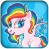 Pony City - Girls pet unicorn evolution games
