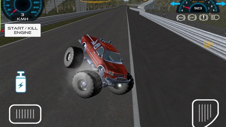 Monster Truck vs Formula Cars screenshot-3