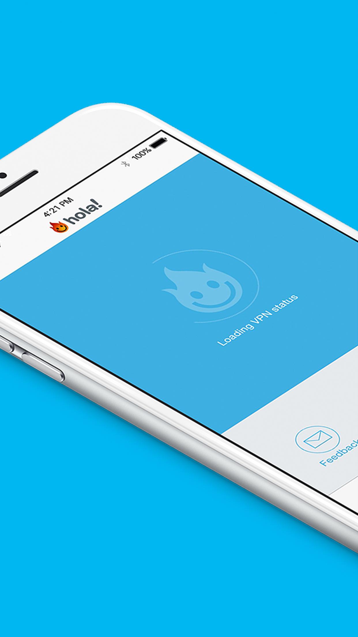 Hola Privacy VPN App & Browser Screenshot