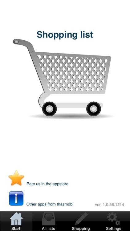 Grocery list - online sync screenshot-4