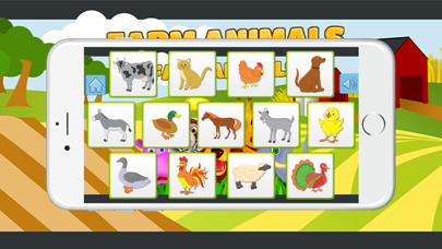 Animal Matching Memory Game For Free Kids screenshot two