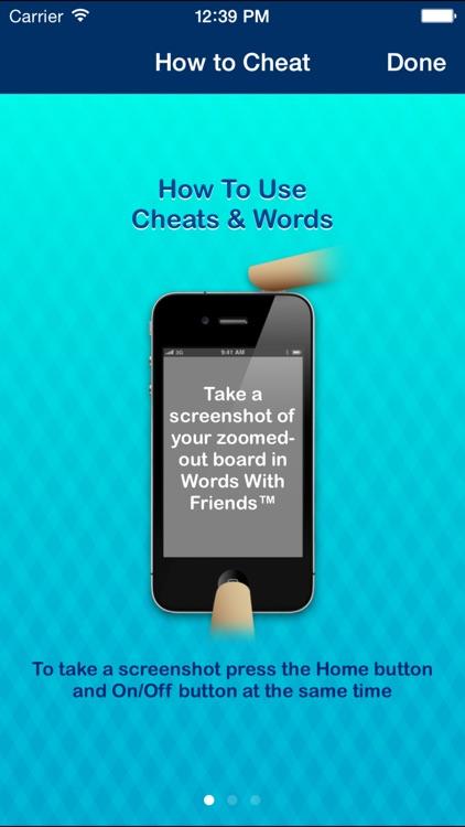 Cheats & Words screenshot-3