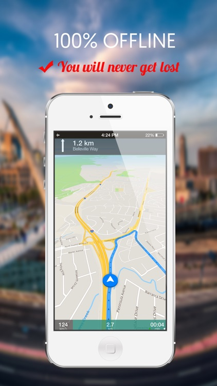 Vermont, USA : Offline GPS Navigation