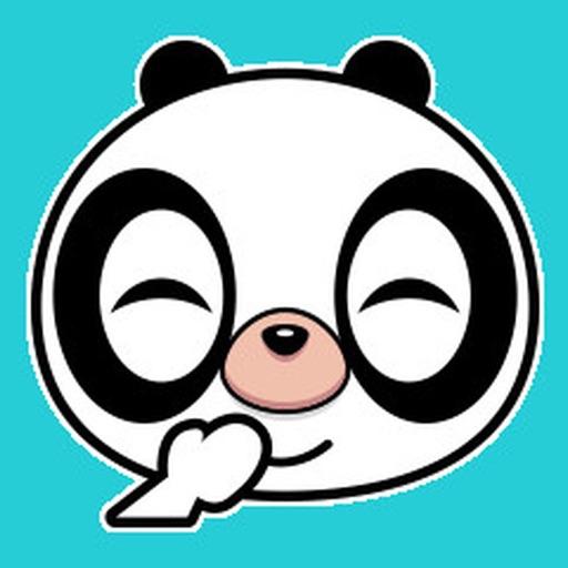 Panda Emoji Animated Stickers For iMessage