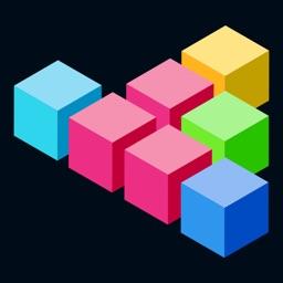 Block Puzzle - Fit To Grid On Square Matrix