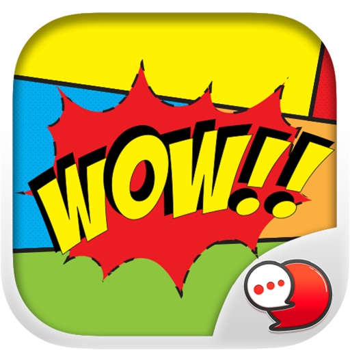 Comic Message Stickers Collection By ChatStick